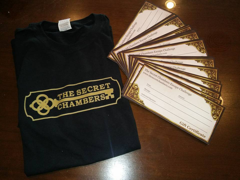 The Secret Chambers - Official Merchandise is Available in the Lobby!
